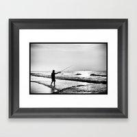 High Contrast Framed Art Print