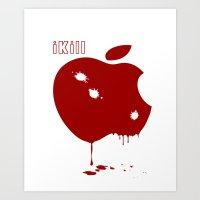 Apple Kill Art Print