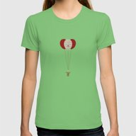 Pennywise The Clown - St… Womens Fitted Tee Grass SMALL