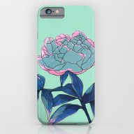 iPhone & iPod Case featuring Peony by Ludovic Jacqz