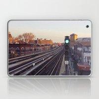 Take The 'A' Train Laptop & iPad Skin
