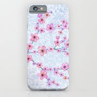 iPhone & iPod Case featuring cherry blossom by Juliagrifol designs
