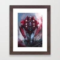 Heavy spider Framed Art Print