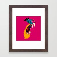 Mandril Framed Art Print