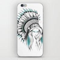 Indian Headdress iPhone & iPod Skin