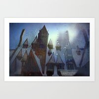 place for magic Art Print