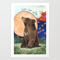 Sniff The Air Art Print