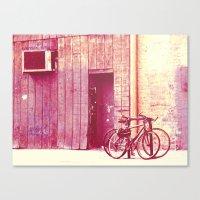 Pedal Canvas Print