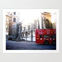 London (Part 1) Art Print