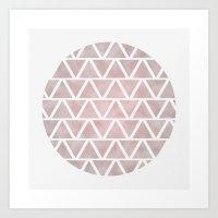 GeoSphere 001 Art Print