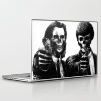 pulp fiction Laptop & iPad Skins featuring Pulp Fiction by Motohiro NEZU