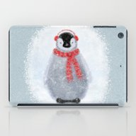 Chilly Little Penguin iPad Case
