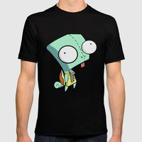 GIR Squirtle  Mens Fitted Tee Black SMALL