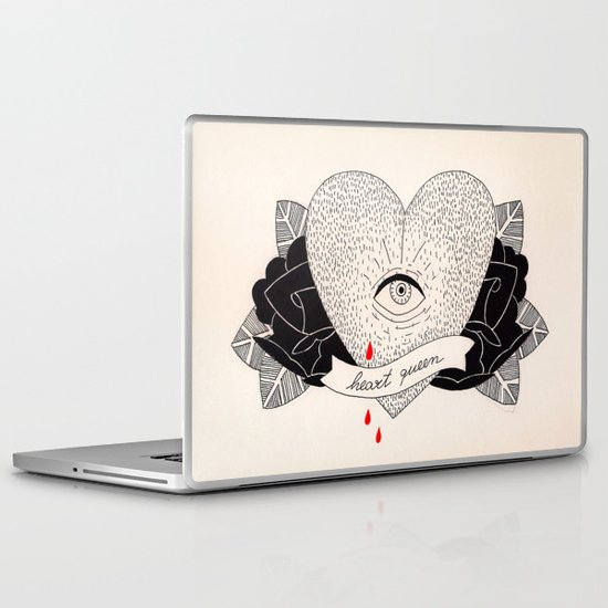 Heart Queen Laptop & iPad Skin