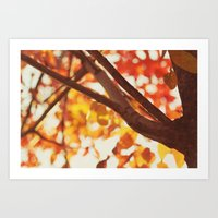 Another Autumn Day Art Print