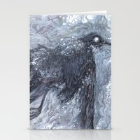 The Bearded Crow Stationery Cards