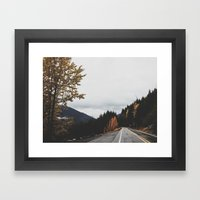 Mt. Rainer National Park Framed Art Print