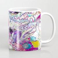 Line Flower Mug