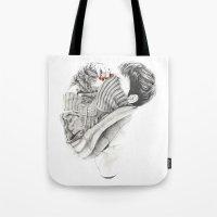 Pullover Attack Tote Bag