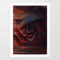 solidão Art Print