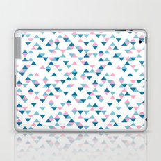 Triangles Blue and Pink Repeat Laptop & iPad Skin