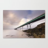 Clevedon Pier Canvas Print