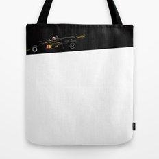 Mario Andretti, Lotus 77, 1976 Tote Bag