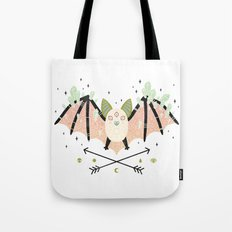 Crystal Bat Tote Bag