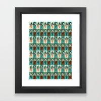 Chocomint Framed Art Print