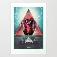 MYSTIC//KOBRA Art Print