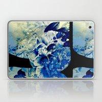 hidden blue peony Laptop & iPad Skin