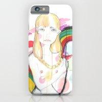 iPhone & iPod Case featuring La fille de Siren by Raül Vázquez