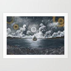 Nautical Journey Art Print