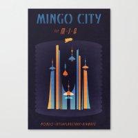 MINGO CITY Canvas Print