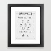 The Ballad of Persse O'Reilly Framed Art Print