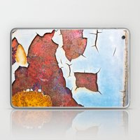 Cracked gate detail Laptop & iPad Skin