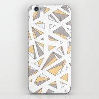 Refracted Diamond - Yell… iPhone & iPod Skin