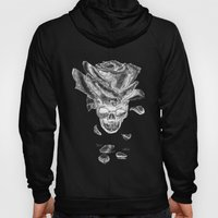 About rose and skull Hoody
