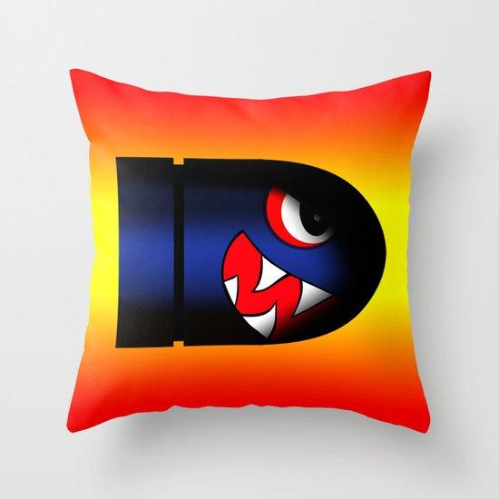 boss bullet (hot) Throw Pillow