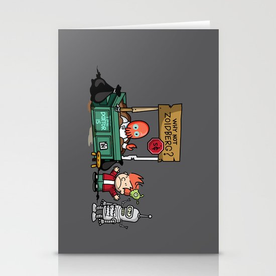 The Doctor is In.... Why not Zoidberg? Stationery Card