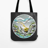 When the Earth meets the Sky Tote Bag