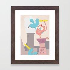 New Baby Framed Art Print