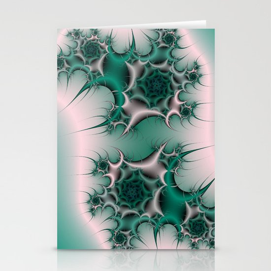 Spiral Cactus Stationery Card