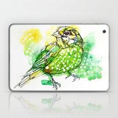 Australian Green Catbird  Laptop & iPad Skin