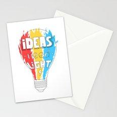 Ideas Need Light Stationery Cards