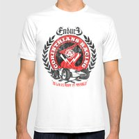 Corinthian's Racing Mens Fitted Tee White SMALL