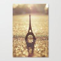 Paris, City Of Light Canvas Print