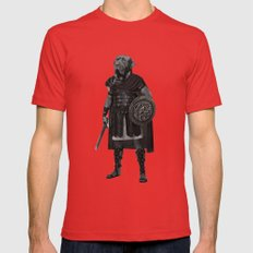 Neapolitan Mastiff Gladiator  Mens Fitted Tee Red SMALL