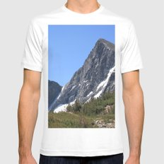 Mount Dana Mens Fitted Tee White SMALL