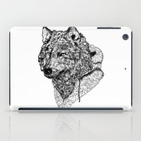 Mr Wolf iPad Case